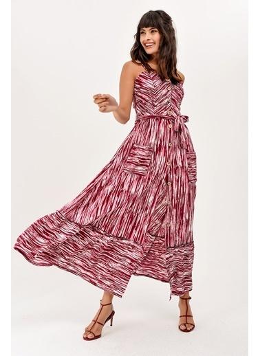 New Laviva Elbise Mürdüm